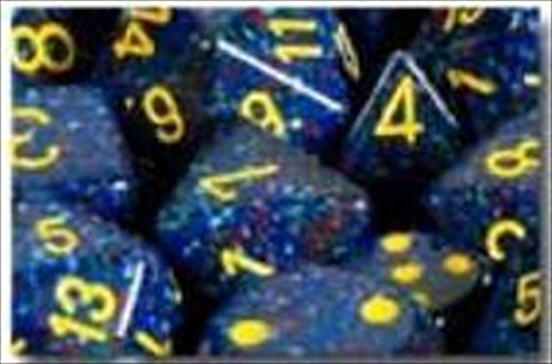 Chessex Manufacturing 25366 Twilight Speckled Polyhedral Dice Set Of 7 - 1