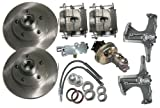 McGaughys Chevy C10 1967 - 1970 2WD Stock Spindles 5 Lug Power Disc Brake Conversion