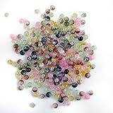Ecloud Shop 250X Perle en Cristal Crystal Verre Rond 6mm Multicolor