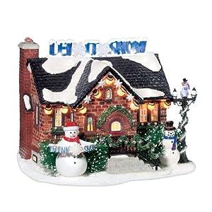 SNOWMAN HOUSE Snow Village House Dept 56 NEW Christmas