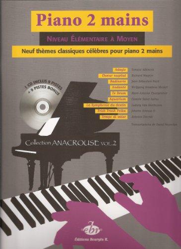 Piano 2 mains - Niveau élémentaire à moyen