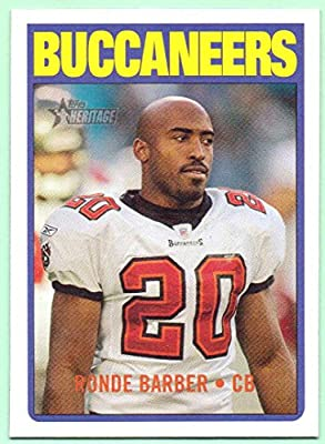 Ronde Barber 2005 Topps Heritage #101 - Tampa Bay Buccaneers