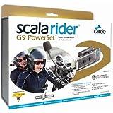 Cardo - Scala Rider G9 Powerset - Kit intercom moto / Pour 2 casques