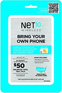 AT&T Compatible SIM Card (Net10)