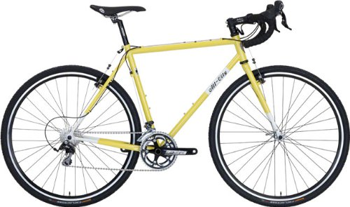 All-City Macho Man Complete Bike 61cm Citron
