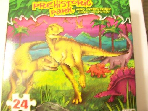 Prehistoric Park 24 Piece Dinosaur Puzzle ~ Raptor Pals by LPF - 1