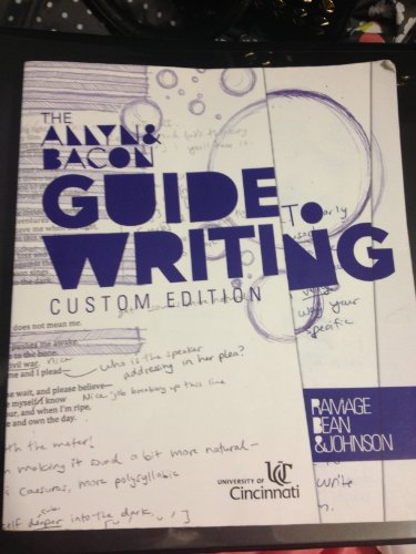 Custom writing tips book