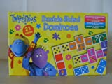 Tweenies Double Sided Dominoes BBC numbers and pictures, 21 pieces