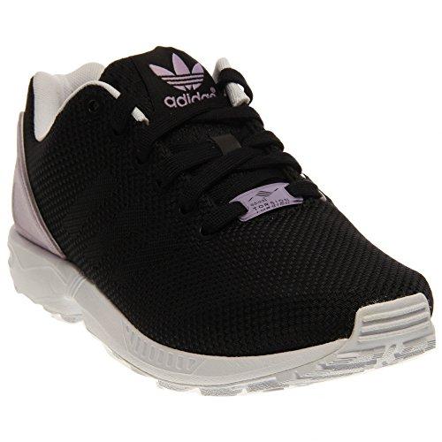 adidas Originals Women's ZX Flux Weave W Lifestyle Runner Sneaker, Core Black/Core Black/Purple, 8.5 M US (Zx 8000 Weave compare prices)