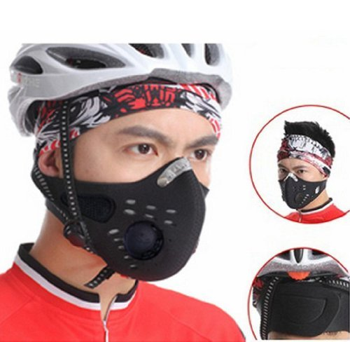 Towallmark 1PC Useful Newest Anti Dust Half Face Mask For Cycling Bicycle Bike Motorcycle Racing Ski