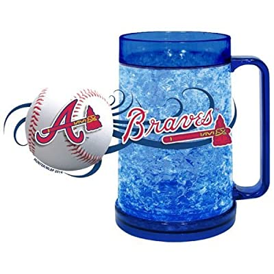 MLB Atlanta Braves Freezer Mug (16-Ounce), Large, Scarlet