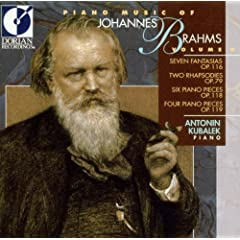 V 2: PIANO MUSIC OF JOHANNES BRAHMS