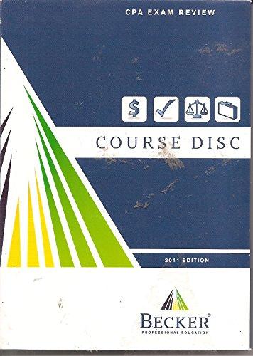 becker-cpa-exam-review-course-disc-2011-edition