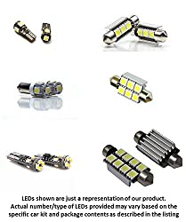 See 9pc BMW 3 Series E46 Coupe LED Lights Interior Package Kit - ERROR FREE (POLARITY FREE, NO MORE FLIPPING BULBS, PLUG AND PLAY INSTALLATION) Details