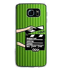 ifasho movie shoots action Back Case Cover for Samsung Galaxy S6 Edge