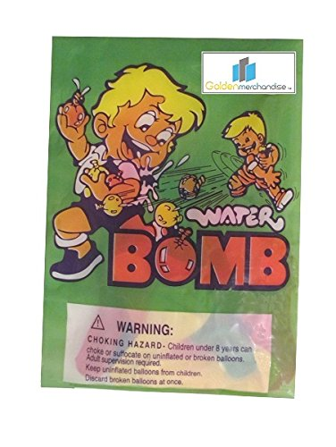 4 Pack Water Balloons Bombs Mixed Multicolor Party Favor Great for Outdoor Games Fun for Kids and Adults - Water Fights -Colors May Vary- 96 Balloons - 1