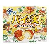 【クリスマスお菓子】冬のパイの実 ホワイトミルク(10個)  / お楽しみグッズ(紙風船)付きセット [おもちゃ&ホビー]