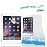 iPad Air 2 Screen Protector, amFilm® Screen Protector for Apple iPad Air 2, iPad Air, iPad 5 and iPad 6 Premium HD Clear (Invisible) with Lifetime Warranty (2-Pack) [in Retail Packaging]