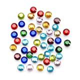 Rhinestone Setter Hot-Fix Embellishments 4mm 750/Pkg-Multi Glass Stone