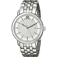 88 Rue Du Rhone 87WA130016 Men's Double 8 Stainless Steel Watch (Silver)