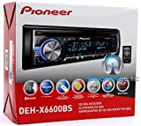 PIONEER DEHX6600BS CD Player with USB/Bluetooth and Mixtrax