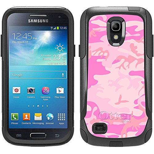 Skin Decal for Otterbox Commuter Samsung Galaxy S4 Mini Case - Camouflage Pink (Samsung Galaxy S4 Mini Decal compare prices)