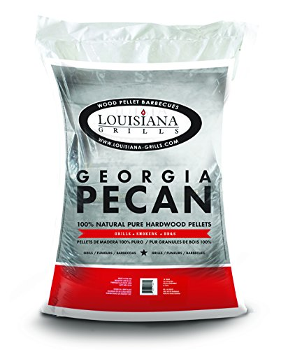 Louisiana Grills Wood Pellets, 40 lb., Georgia Pecan (Pellet Wood Smoker compare prices)