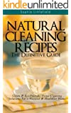 Natural Cleaning Recipes - The Definitive Guide: Green & Eco-Friendly Home Cleaning Solutions for a Happier & Healthier Home (English Edition)