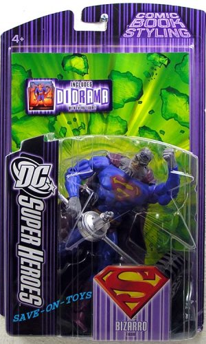 Buy Low Price Mattel DC SUPERHEROES JUSTICE LEAGUE UNLIMITED BIZARRO Figure (B000EGEZKQ)