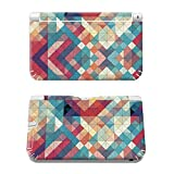 Grid Pattern Arts SKIN VINYL STICKER DECAL COVER for Nintendo 3DS XL