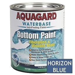 AQUAGARD Aquagard Waterbased Anti-Fouling Bottom Paint - 1Qt - Horizon Blue / 10006 /