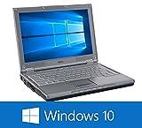 【12型以上ワイド液晶】【無線Wi-Fi付き】【DVDドライブ搭載】【OPEN OFFICE付き】【Windows 10 搭載】おまかせ B5 中古ノートパソコン Celeron 1.6GHz(また相当)以上