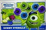 Disney Pixar Monsters University Gummy Eyeballs - Two 2 Oz Boxes