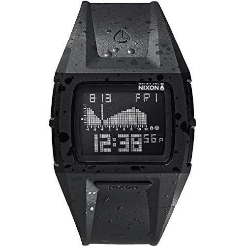 Nixon Lowdown S A3641989-00 - Reloj unisex, correa de plástico color negro