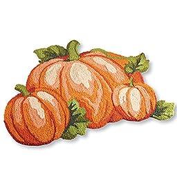 Fall Pumpkin Patch Accent Rug