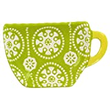 Lime Teacup Tea Bag Caddy