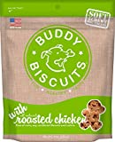 Cloud Star Soft & Chewy Buddy Biscuits Dog Treats, Roasted Chicken Flavor, 6-Ounce Pouches (Pack Of 4)