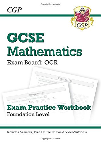 GCSE Maths OCR Exam Practice Workbook with Answers & Online Edn: Foundation