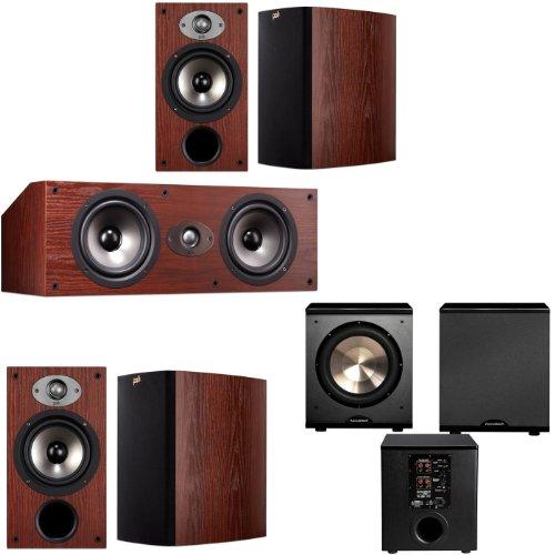 Polk Audio Tsx220 5.1 Home Theater System (Cherry)