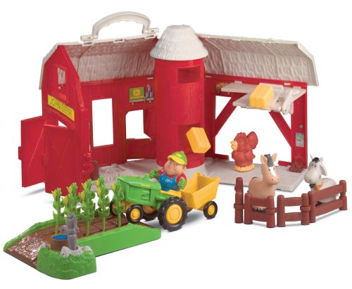 John Deere - Big Red Barn Playset