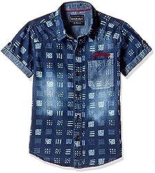 Cherokee Boys' Shirt (267983763_Blue_11 - 12 years)
