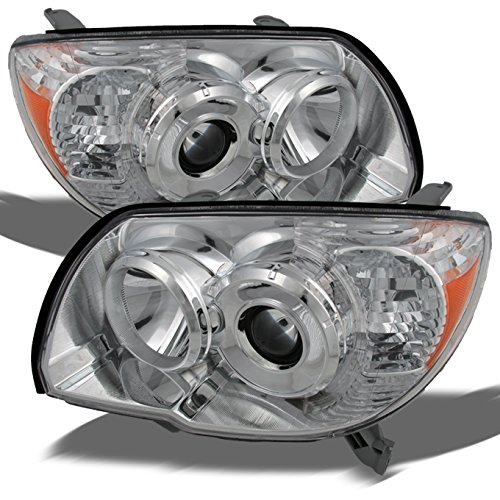 Toyota 4Runner Chrome OE Replacement Headlights Driver/Passenger Amber Head Lamps Pair (Headlights Toyota 4runner compare prices)