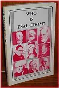 IS EDOM ESAU PDF WHO CHARLES WEISMAN A