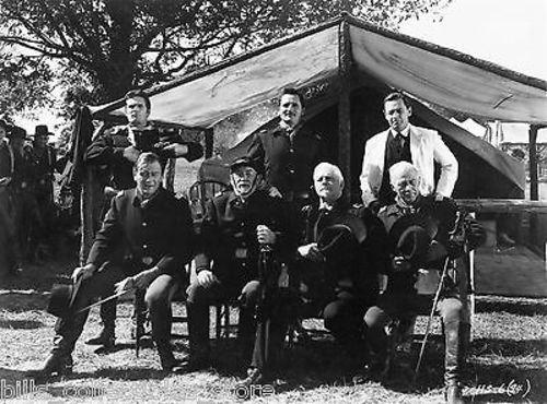 JOHN WAYNE JOHN FORD THE HORSE SOLDIERS 8X10