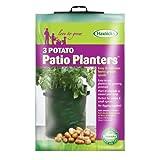 Tierra Garden 50-1040 Haxnicks Potato Patio Planter, 3-Pack