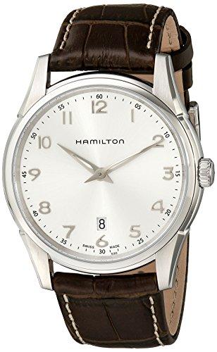 [ハミルトン]HAMILTON Jazzmaster Thinline 42mm (ジャズマスター シンライン 42mm) シルバーダイアル H38511553 メンズ 【正規輸入品】