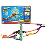 Hot Wheels Year 2013 Wall Tracks Series 1:64 Scale Die Cast Car Track Set : Roto Arm Revolution With Battery Powered...