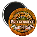 "CafePress - Breckenridge Colorado Magnet - 2.25"" Round Magnet, Refrigerator Magnet, Button Magnet Style"