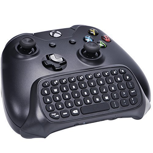 SmaAcc mini tastiera per Xbox one- Chatpad portatile per tutte le versioni di Xbox One controller