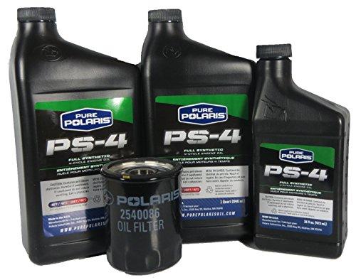 Polaris 2013 Ranger RZR 900 XP Oil Change Kit PS-4 Oil (900 Xp Rzr Accessories compare prices)
